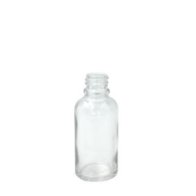 Флакон стеклянный 30 мл GL18 прозрачный