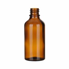 Флакон стеклянный 50 мл GL18 коричневый